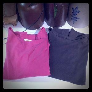 Bundle of 2 Talbots Long Sleeve Shirts